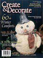 Books patterns kits for Create and decorate magazine free